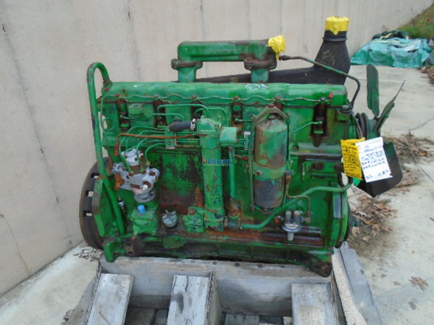 John Deere 381, 404, 4010 OEM Engine Complete Good Running A+ BCN: R26076R