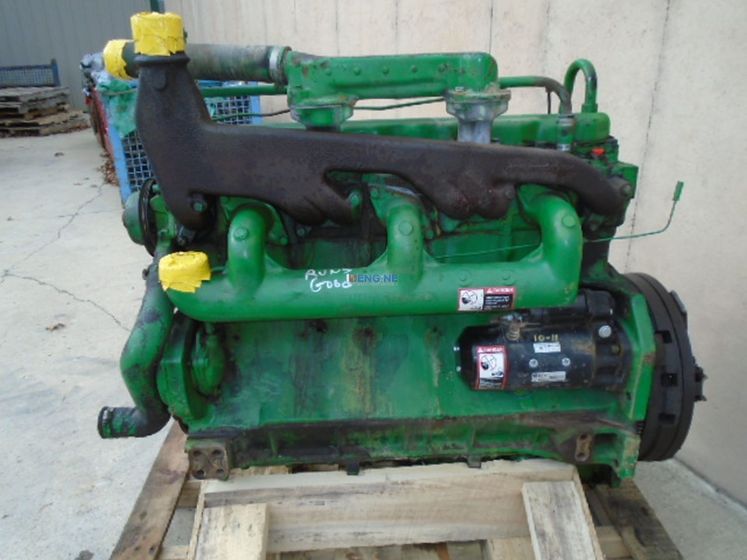 R  F  Engine John Deere 4020 Tractor Late Model Engine Oem