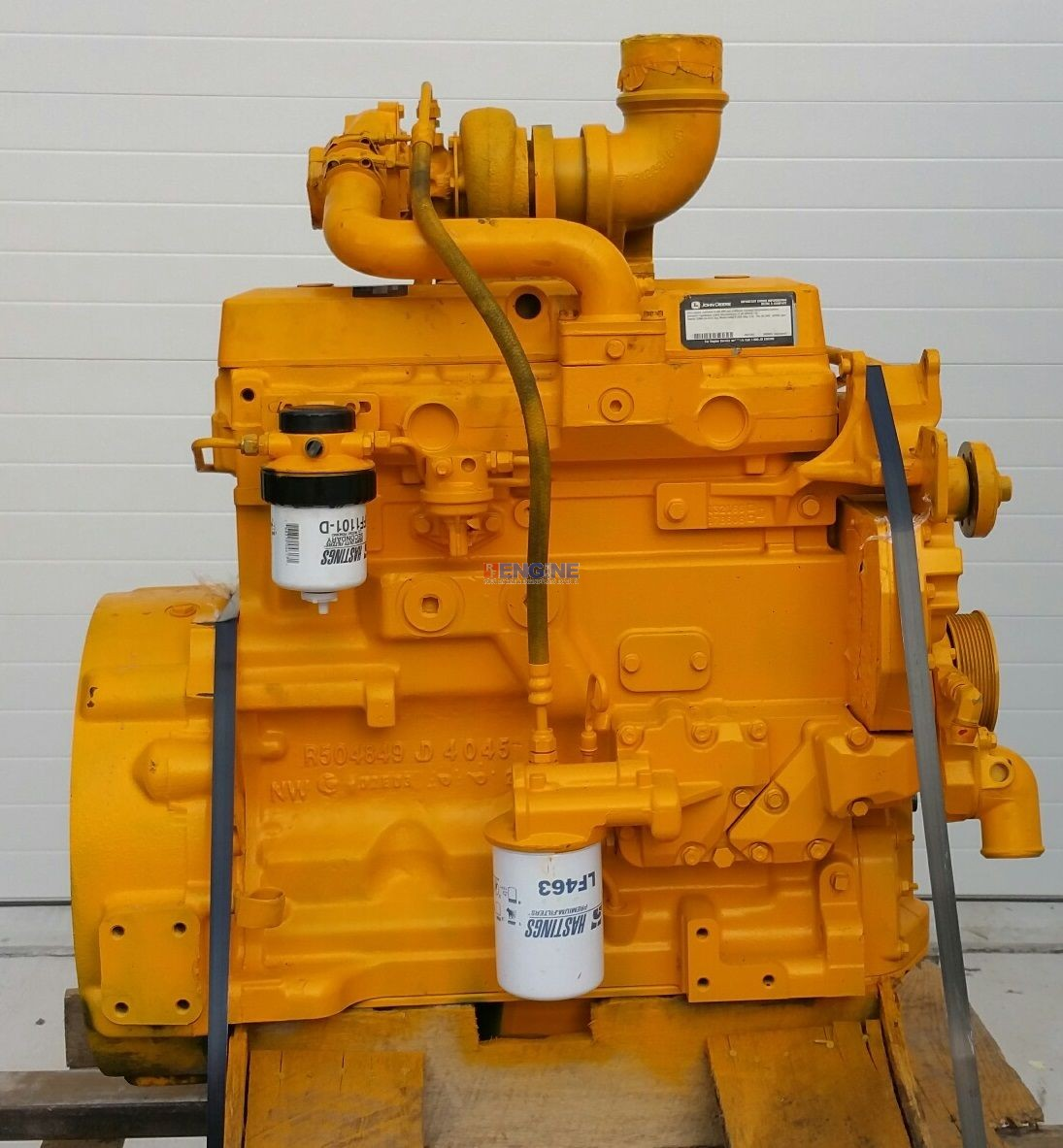 John Deere 4045pt 4 5l 4045tf150 Engine Reman S N