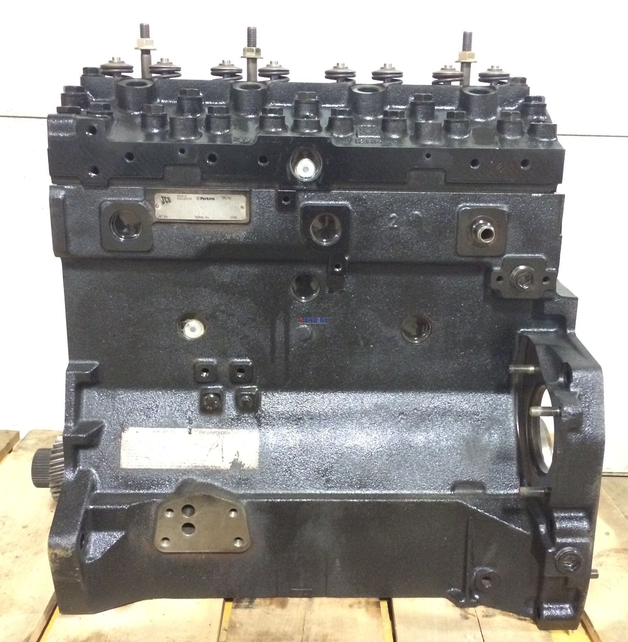 R. F. Engine Perkins PK 1004-40T Engine Long Block Reman S ...