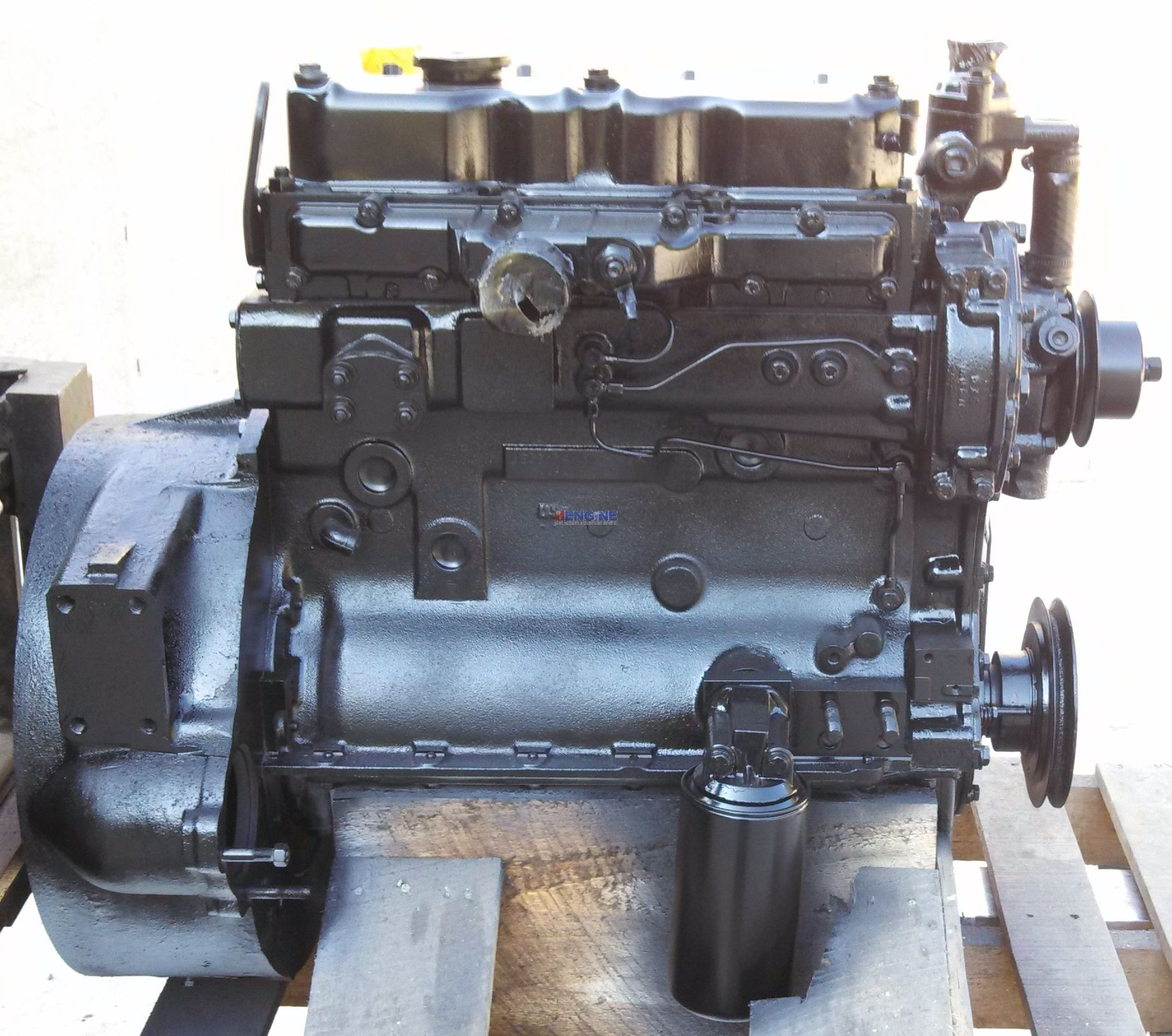 Perkins 203 Nat Engine Reconditioned S N Je3317411571449h