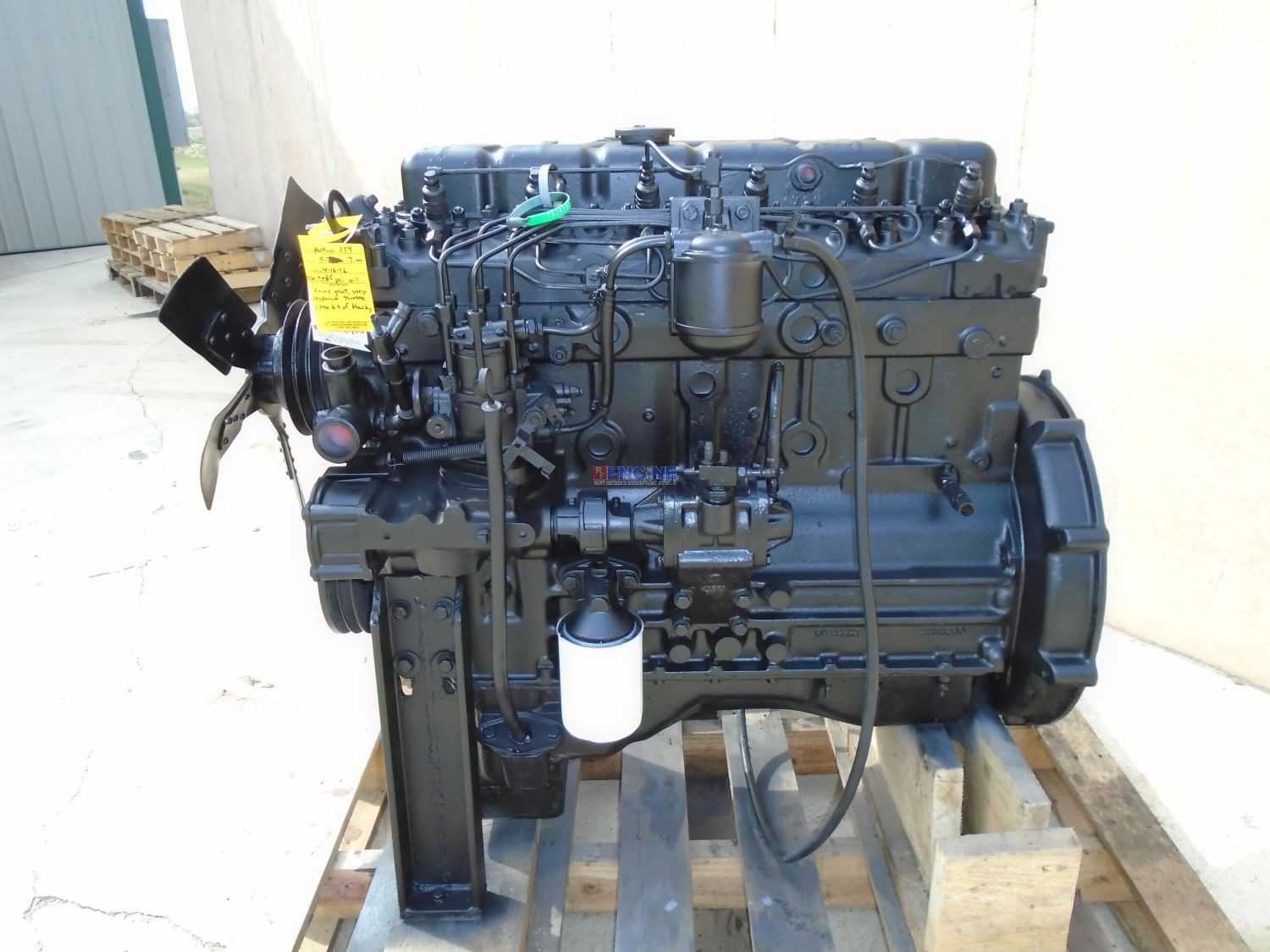R F Engine Perkins T6 354 Engine Complete Good Running A
