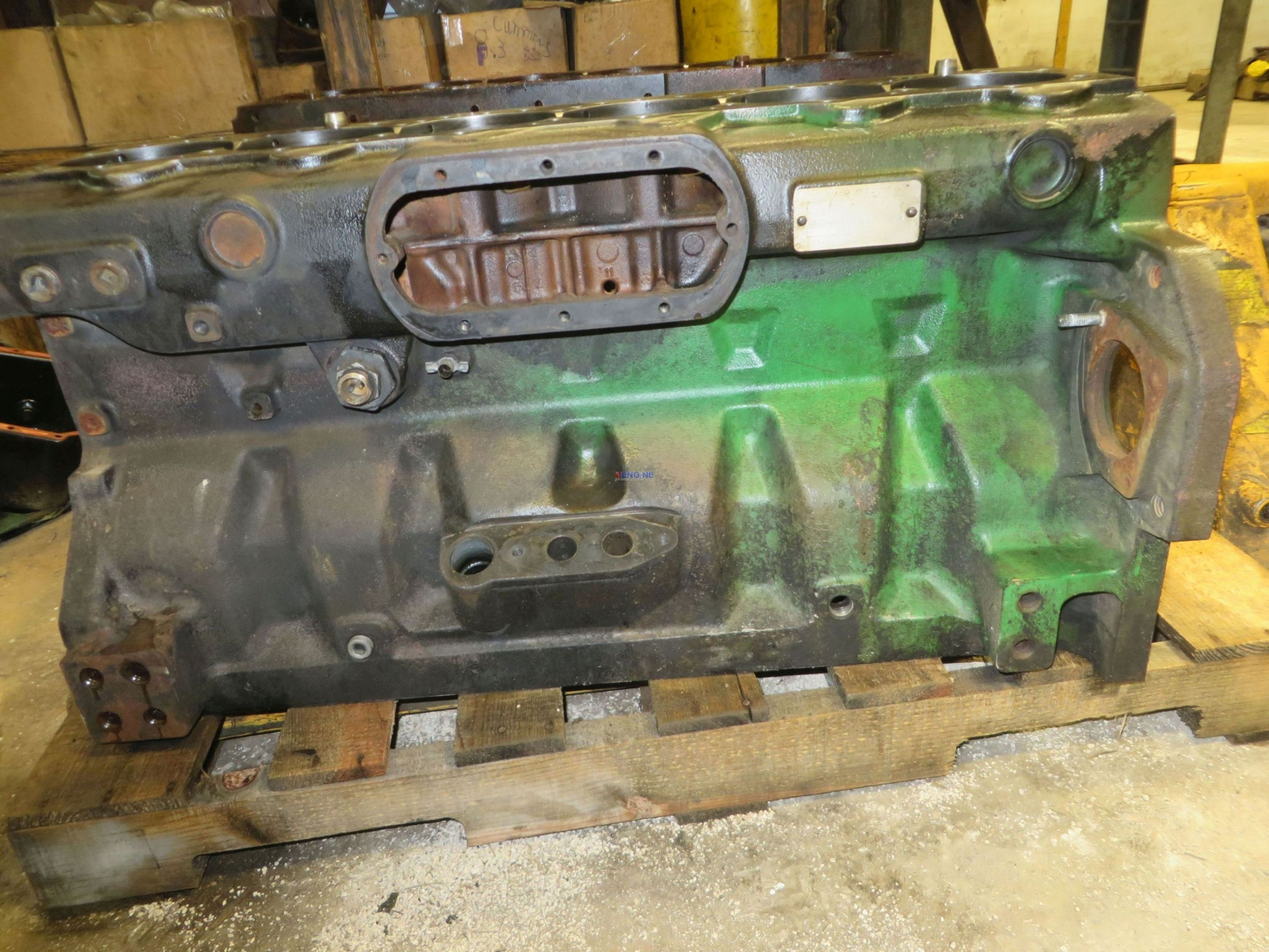 John Deere Block : R f engine john deere jd block used cyl dsl