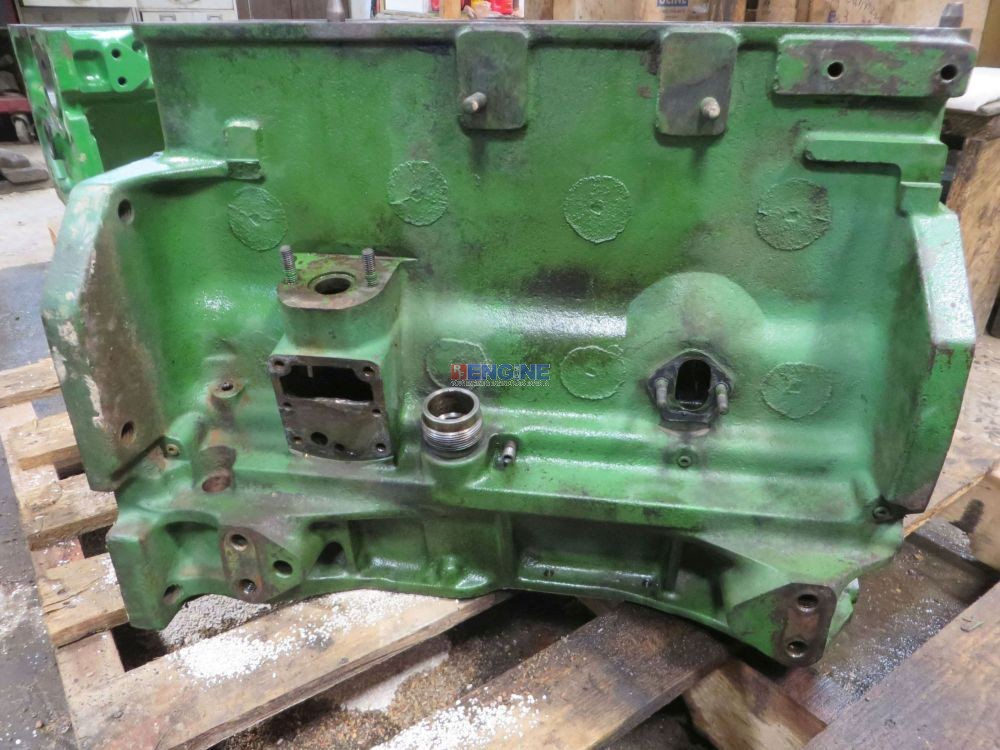 John Deere Block : R f engine john deere jd block good used