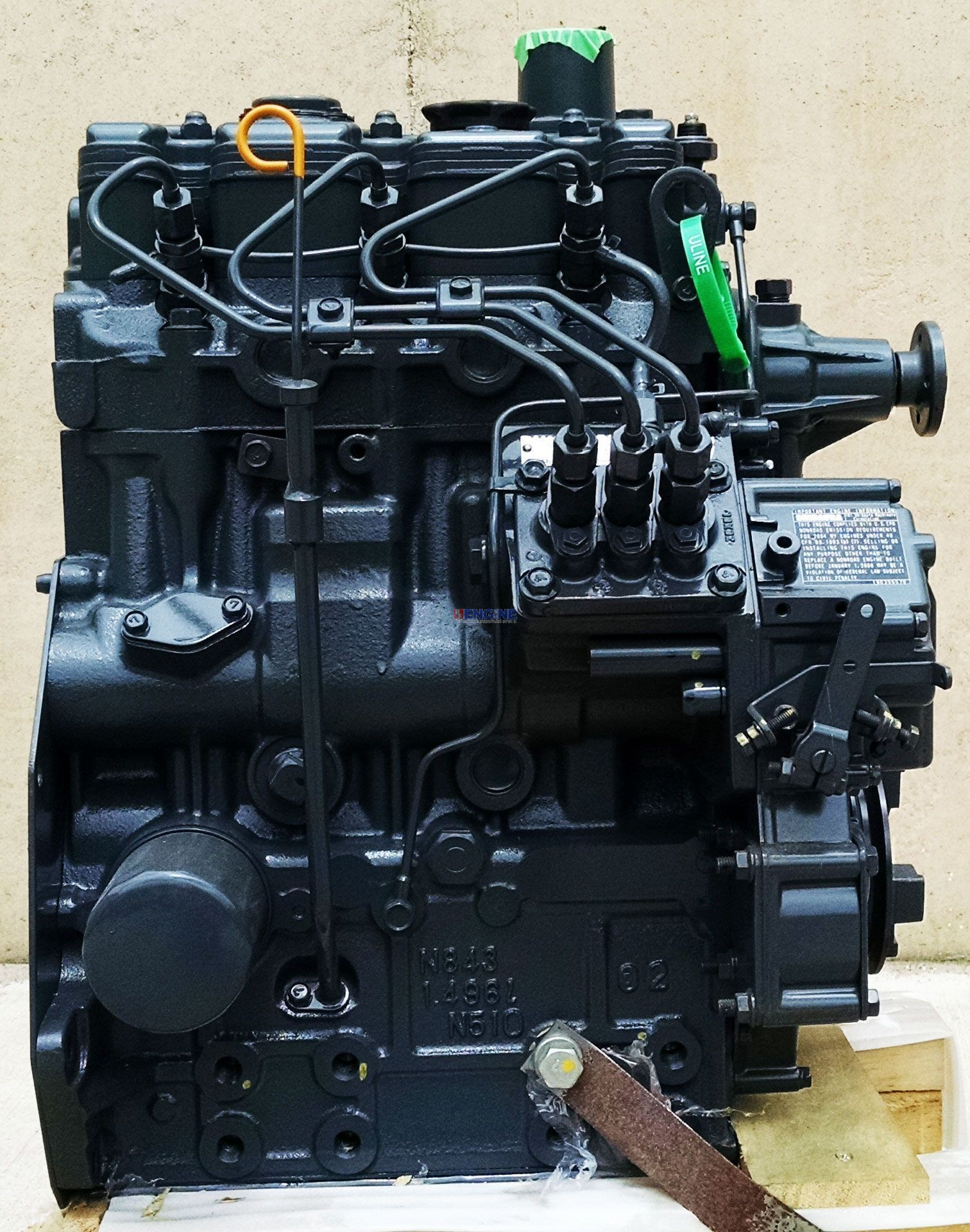 R f engine shibaura sb n843 engine complete new esn for Ford motor company phone directory