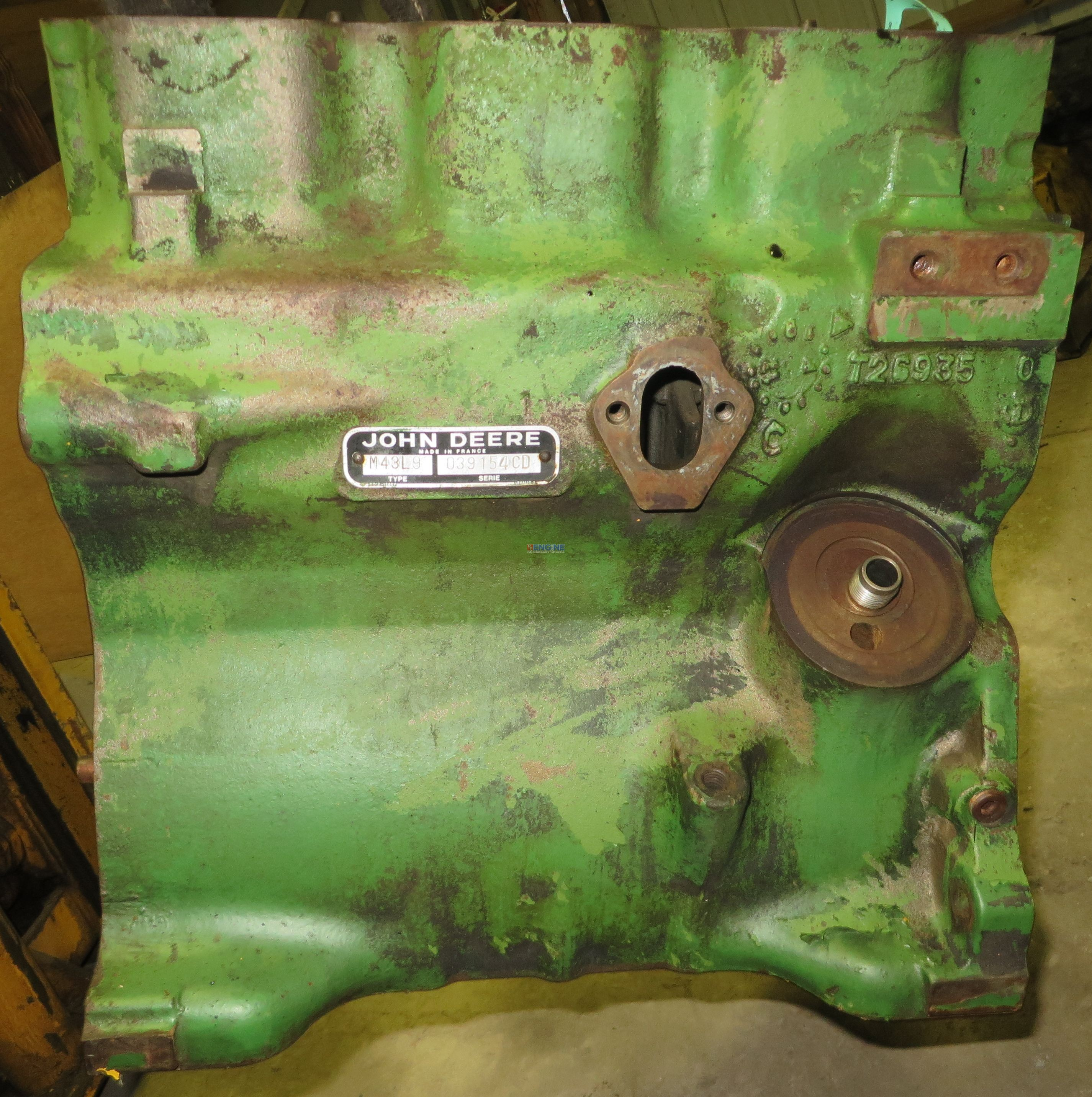 Oem Jd 1020 Wiring Harness Free Download John Deere R F Engine 3 152 Block Good Used T26935 2 Cyl For Factory Genuine