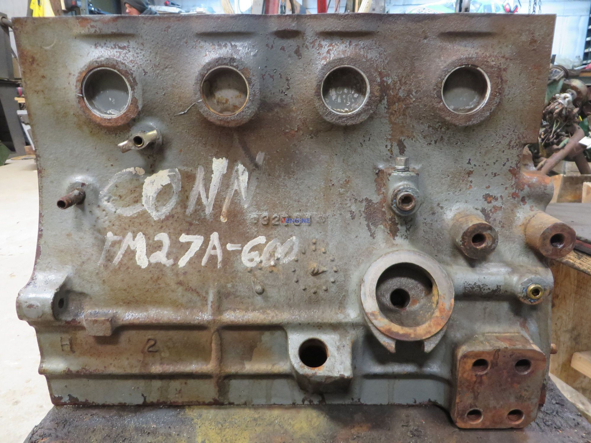 ENGINE BLOCK, USED - CONTINENTAL TM27 - TM27A600M