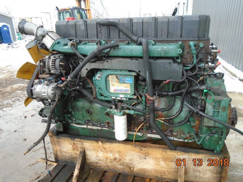 Volvo VE D12C-465, 12.1L Engine Complete Used BCN: 1001796 ESN: D12C