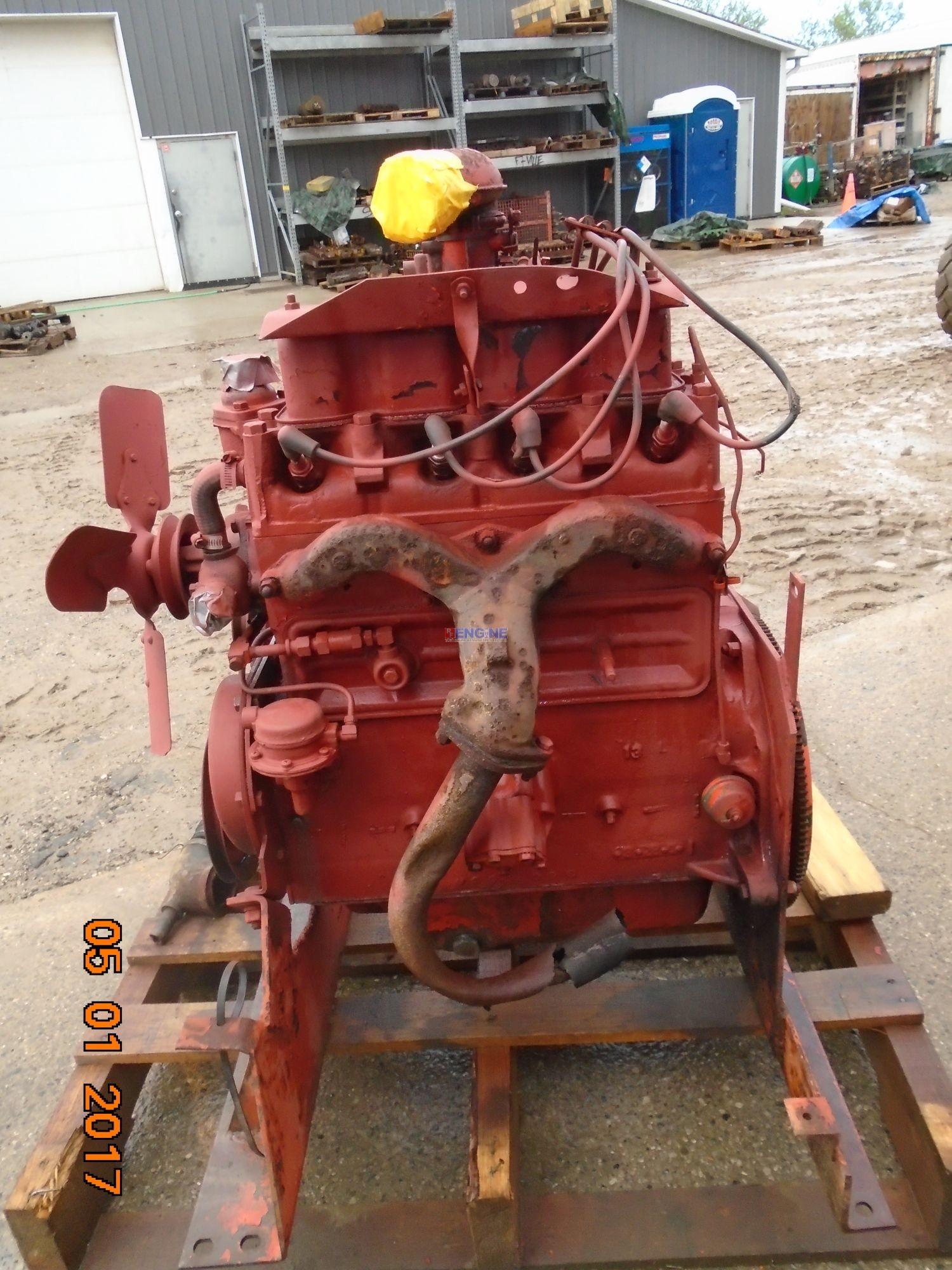 r. f. engine willys f4-134 hurricane!! oem engine complete good