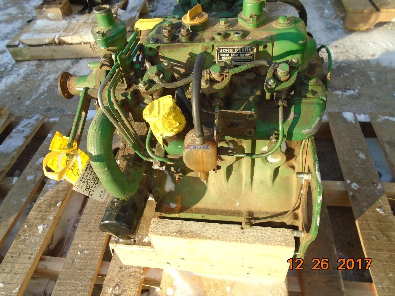 Yanmar 3T80-UJ 1 3L Engine Complete John Deere 750 Mechanics Special Non  Running