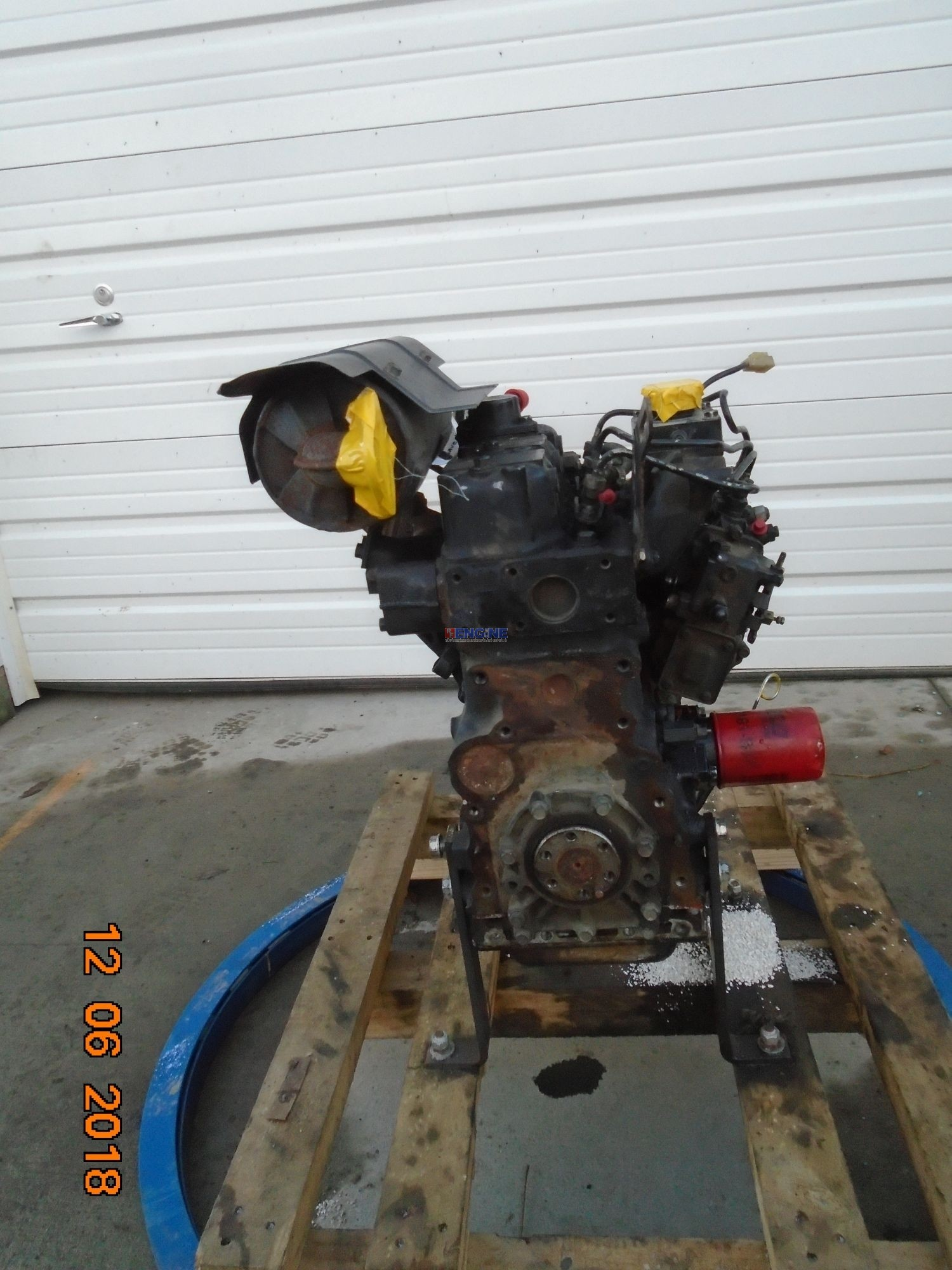 Yanmar 3TN75RJ Engine Complete Mechanics Speacial Running Core ESN:  CH3033D02508