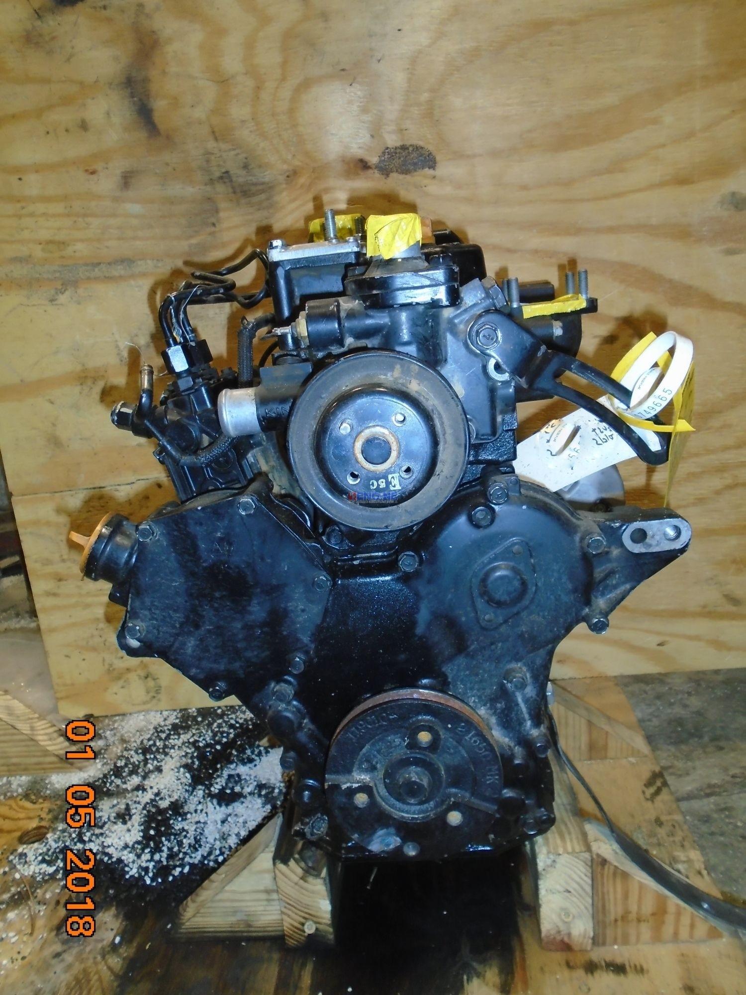 R. F. Engine Yanmar 3TNV80F-NCJT (1.267L) Engine Complete Running Core ESN: CH3U13D055320