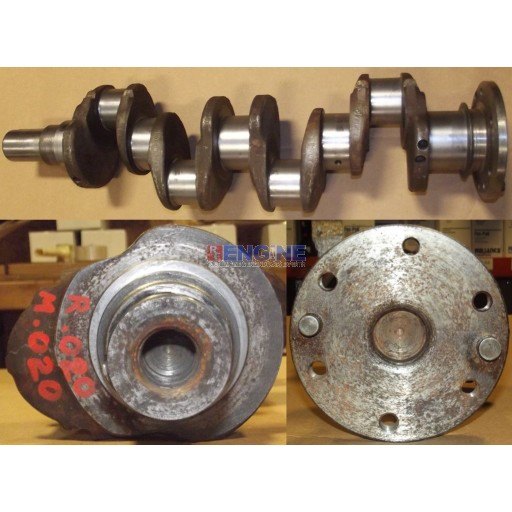Ford Crankshaft Remachined 220 0.20 Rods / 0.20 Mains 4 Cyl Diesel Forg # E1ADDN