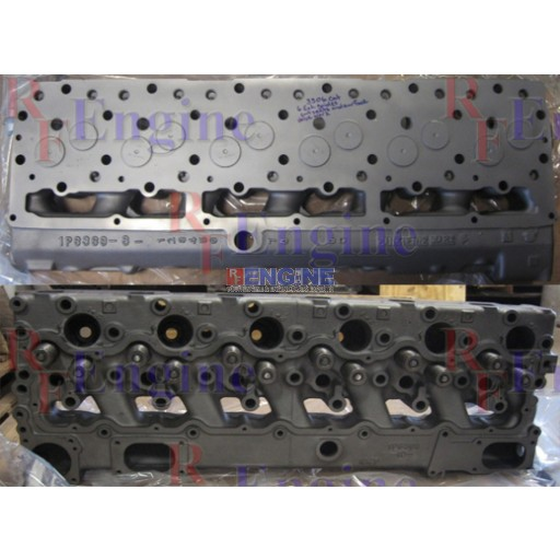 Cylinder Head Remachined Caterpillar 3306PC 6 Cyl Diesel CN: 1P6369 NO PLUGS