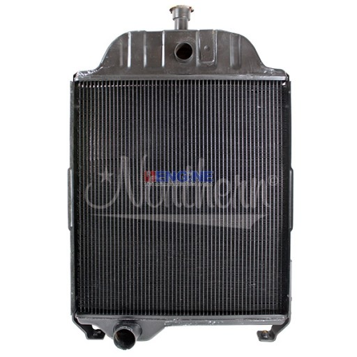New Radiator John Deere Fits: 401D Without Oil Cooler