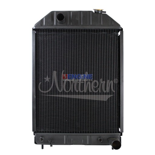 New Radiator FORD/NEW HOLLAND FITS:  750, 755, 755A, 755B, 7500 TRACTOR LOADER BACKHOE