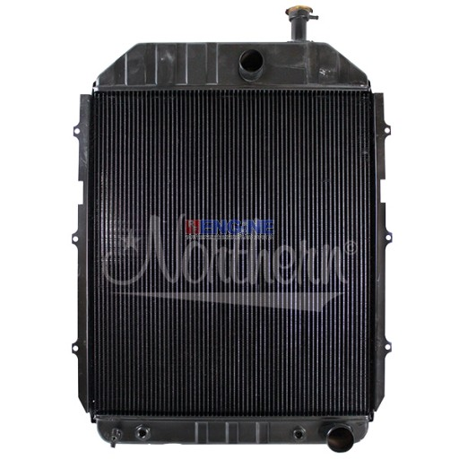 New Radiator FORD/NEW HOLLAND TRACTOR FITS: FORD / NEW  HOLLAND TRACTOR MODEL 8700