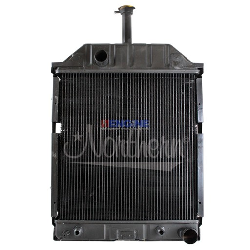 New Radiator FORD/NEW HOLLAND FITS: 455, 550, 555, 555A, 555B, 655, 655A