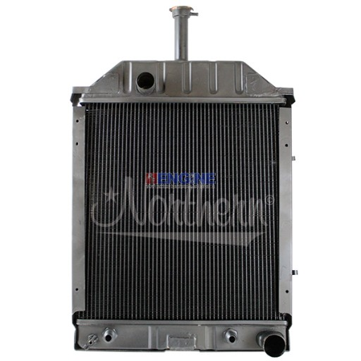 New Radiator FORD/NEW HOLLAND TRACTOR FITS:  550, 555, 555A, 555B