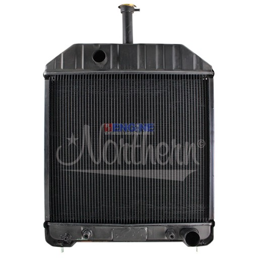 New Radiator  FORD/NEW HOLLAND FITS:  555, 555C, 555D, 575D, 655C, 655D, 675D