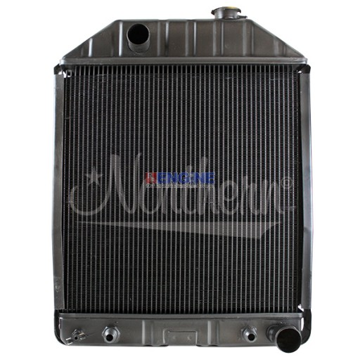 New Radiator FORD/NEW HOLLAND  FITS:   55, 345C, 445C, 535, 545, 4500, 5100, 5200, 5600, 6600, 6600