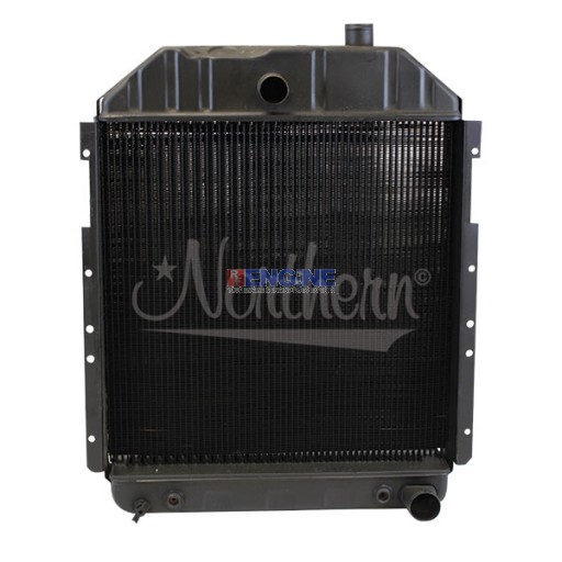 New Radiator FORD/NEW HOLLAND TRACTOR  FITS:  6710, 7700, 7710