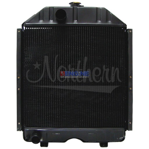 New Radiator KUBOTA TRACTOR FITS:   EARLY M6030, M6030DT, M6030DTN, M6030DTNB. FOR LATER MODELS SEE 219807