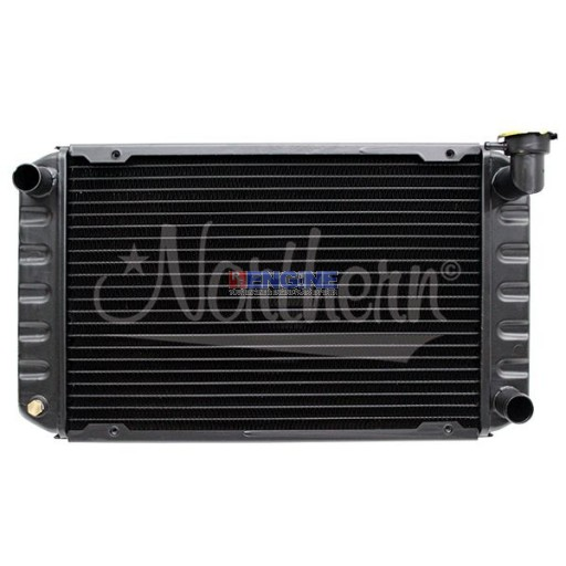 Radiator FORD/NEW HOLLAND FITS: L255, LS125 -front