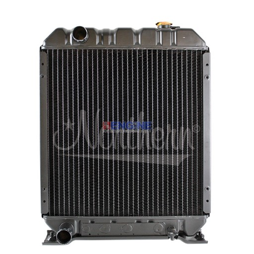 New Radiator FORD/NEW HOLLAND TRACTOR W/ DRAIN ON RADIATOR FITS:  1530, 1630, 1725, 1925, TC25, TC25D, TC29, TC29D, TC33, TC33D