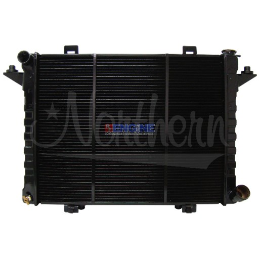 New Radiator DODGE FITS 1990-1993 DODGE D/W SERIES PICKUPS WITH 5.9L DIESEL ENGINE