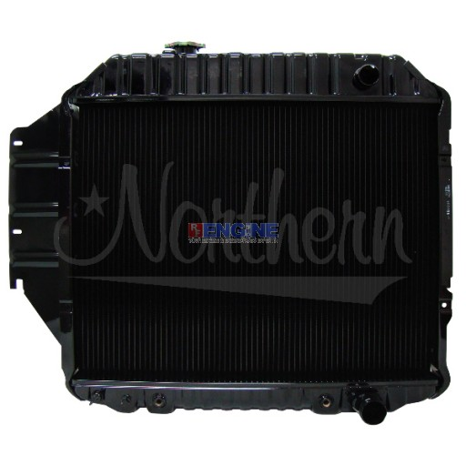 New Radiator FORD RADIATOR FITS 1975-1996 FORD E SERIES VAN WITH 4.9L ENGINE
