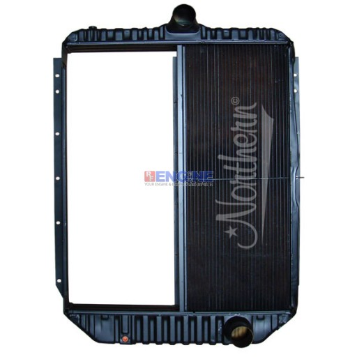 New Radiator BLUEBIRD / INT'L FITS:  1993-1996 3000, 3600, 3800, 4900 SERIES, SCHOOL BUS