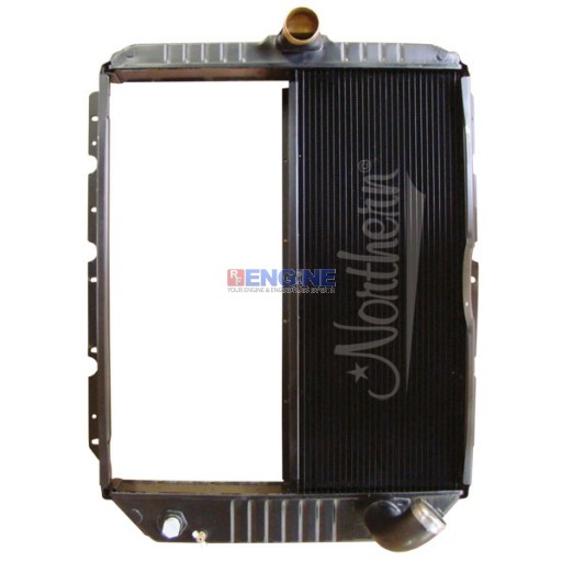 New Radiator BLUEBIRD / INT'L FITS:  3000, 3600, 3800 , 4700, 4800, 4900 SERIES, 4954 FROM 1996-2002
