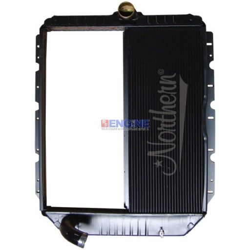 New Radiator BLUEBIRD / INT'L FITS:  3000, 3600, 3800, 4100-4400, 7300-7700 SERIES