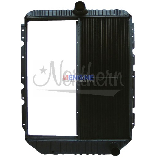 New Radiator BLUEBIRD / INT'L FITS:  4900 SERIES, UPS TRUCKS FROM 1993-1996