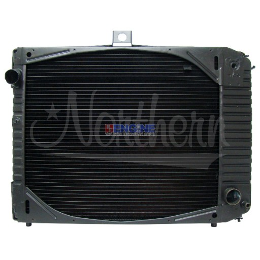 New Radiator FORD / STERLING FITS:  1975-86 FORD L, LN, LNT, LT, LTS, 8000 M/T CAT ENGINE ONLY. SUPERCEDES 230992