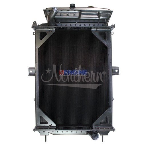 New Radiator KENWORTH FITS: 1988-2007 T600, T700, T800, W900 WITH CURVED INLET