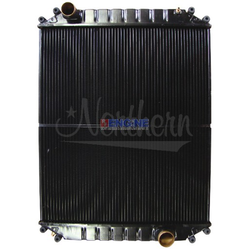 New Radiator FREIGHTLINER FITS:  FL50, 60, 70, 80, 90 WITH 3126 ENGINE, MAY FIT OTHER ENGINES AS WELL