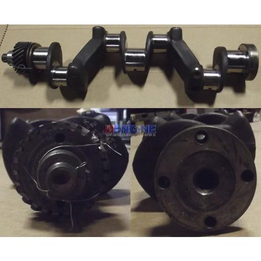 Remachined Crankshaft 0.30 Rods / 0.30 Mains Case 124 4 Cylinder GAS VT5200 VT-5