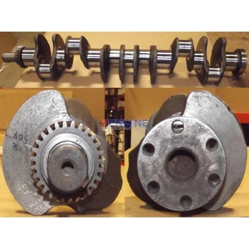 Case Remachined Crankshaft 0.30 Rods / 0.30 Mains 504 6 Cylinder Diesel A66722,