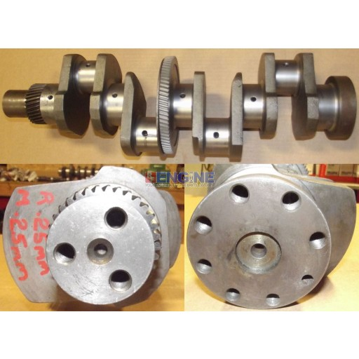 Crankshaft Remachined International D206 0.25 Rods / 0.25 Mains 4 Cyl Diesel 328