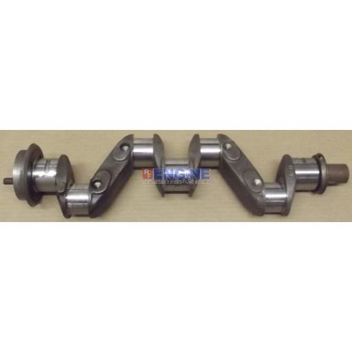 Waukesha Remachined Crankshaft 0.10 Rods / 0.20 Mains 121 4 Cylinder Gas 160211