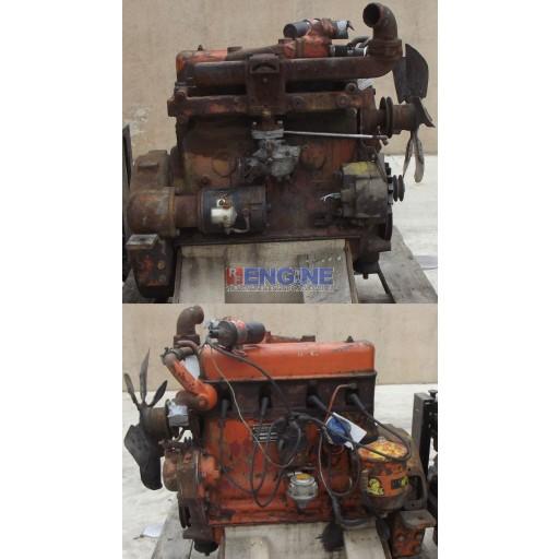 Allis Chalmers Engine Good Running 4B-153 4 Cyl GAS S/N: 387830 CNTRL: CMO1012GR
