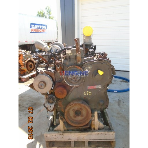 Cummins ISC Engine Complete Core