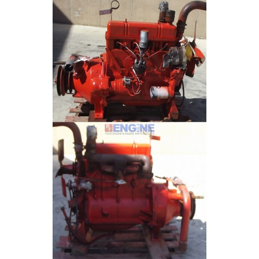 Good Running Engine Case 201 4 Cylinder GAS S/N: 2639570 CNTRL: CMO0812GR