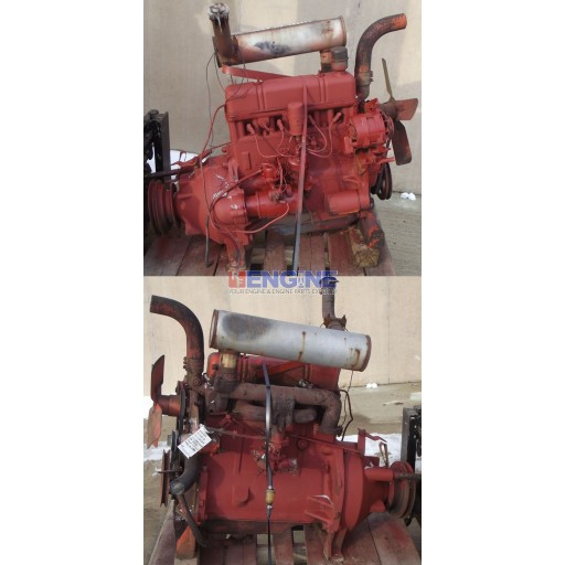 Case Engine Good Running 201G S/N: 2640871 Block: A37707 Head: G2084 4 Cyl Gas