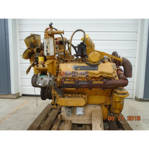 Caterpillar 3208T Engine Complete