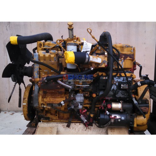 Caterpillar Engine Good Running 3126 S/N: HEP07040 BLOCK: 126-5923 AR#: 226-7051