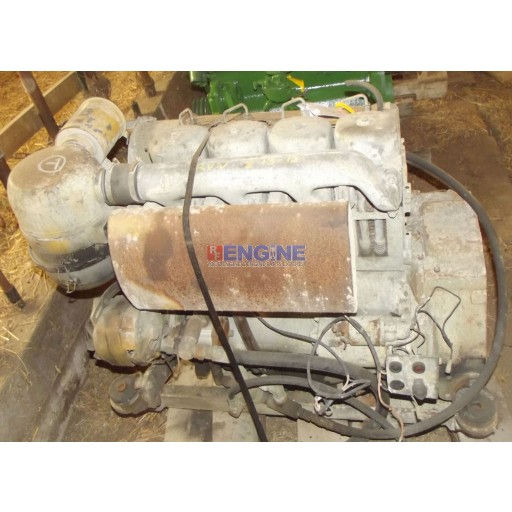 Deutz Engine Good Running F4L912 NAT BLOCK: 236211 Test Ran: 11/27/12, B, 95 PSI