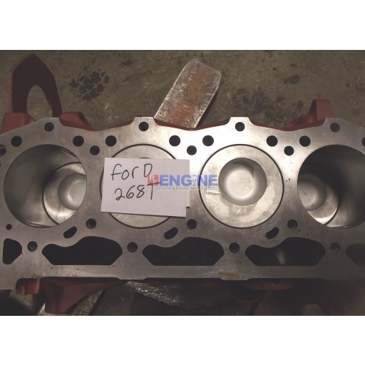 Short Block Remachined Ford / Newholland 268 Turbo Ser: F948364 Blk: E6NN6015DA